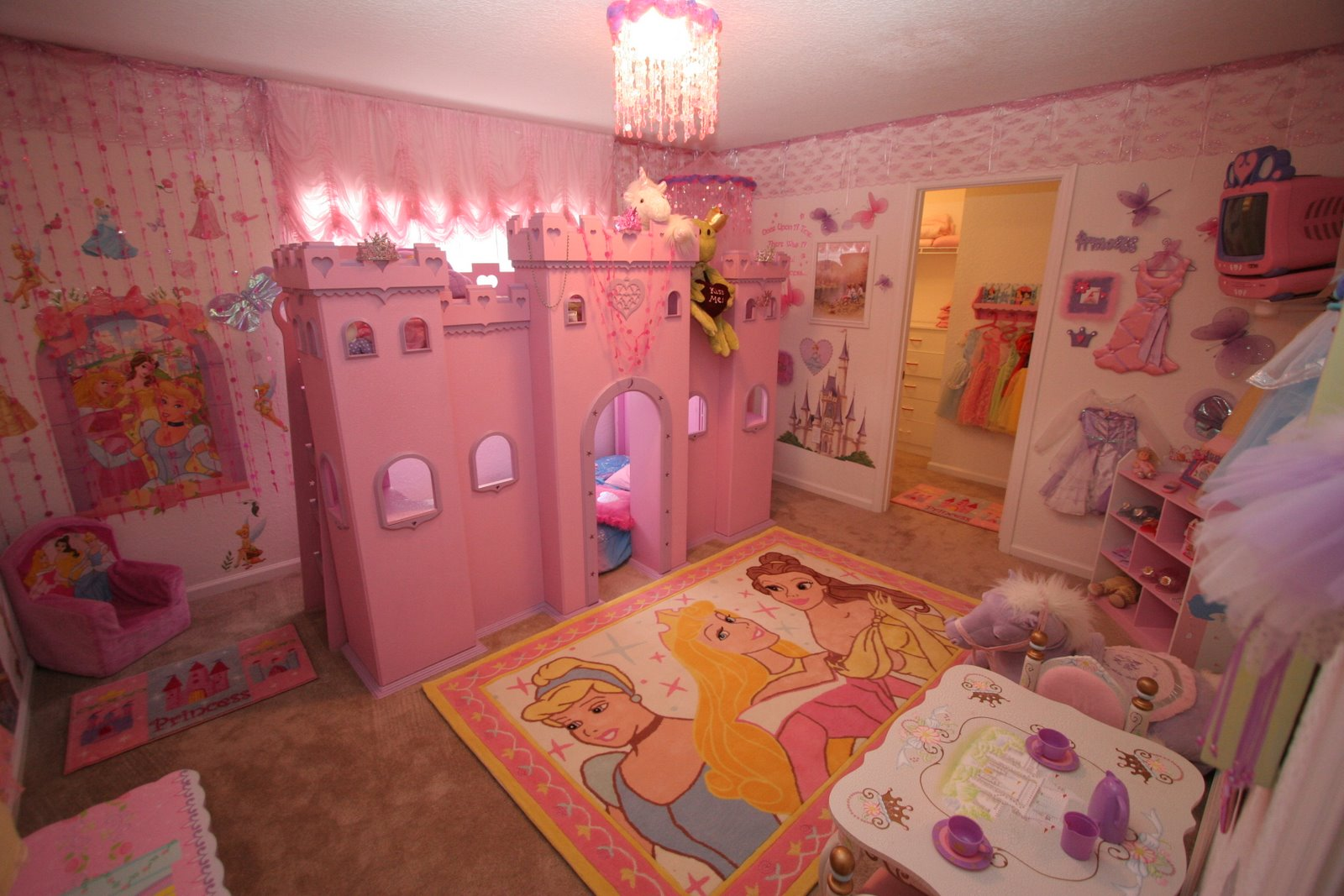 Dsny home 3 for Princess bedroom